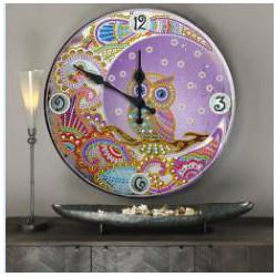 diamond painting reloj...
